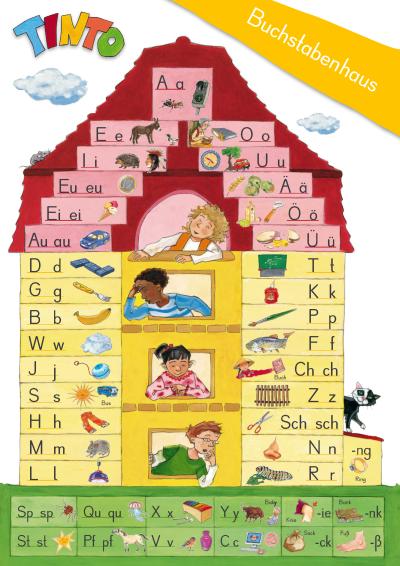 Das Buchstabenhaus Mit Tinto Lesen Lernen Durch Schreiben