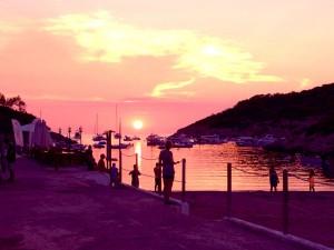 Ibiza-Sonnenuntergang